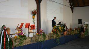Dr. Paul Becker (DWD) beim Festvortrag